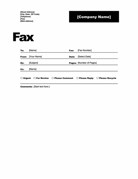 As You Can Use The Fax Template By Downloading And For Sending Online But What If Need To Send Offline Do Not Worry We Have Something Free