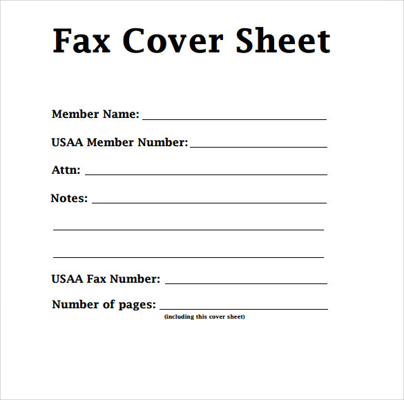 Confidential Fax Cover Sheet | Free Fax Cover Sheet Template Download