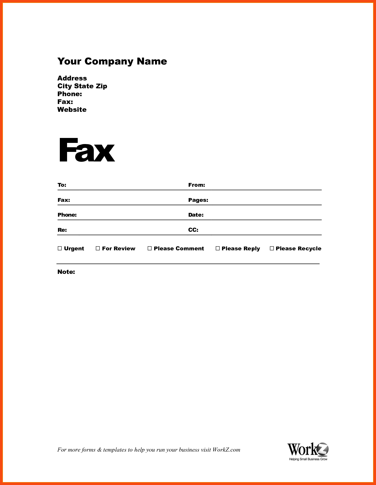 How to Fill Out a Fax Cover Sheet | Free Fax Cover Sheet Template ...
