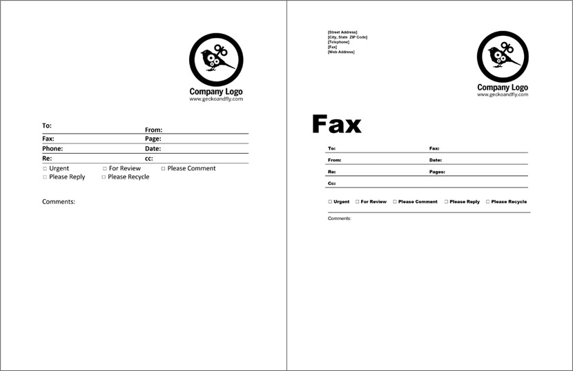 Holiday Fax Cover Sheet Templates  Free Fax Cover Sheet Template