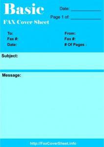 Download Fax Cover Sheet, Download Fax Cover Sheet Printable