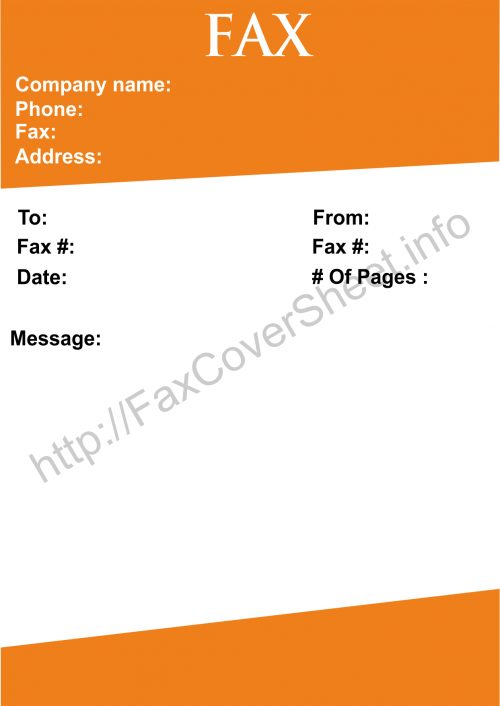 Confirm This Fax Cover Sheet template