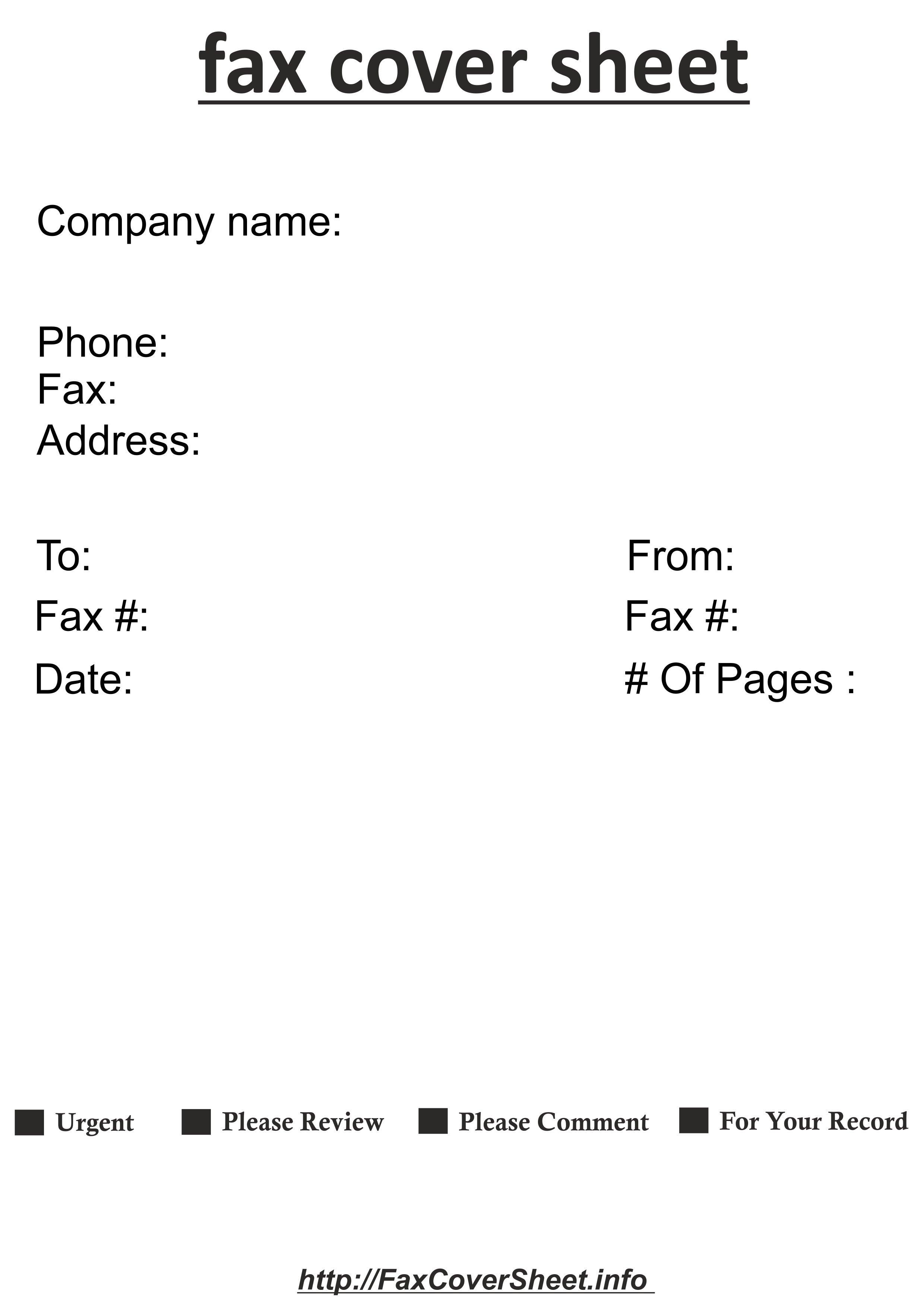 DownloadFax Cover Sheet with Contemporary Design in Publisher