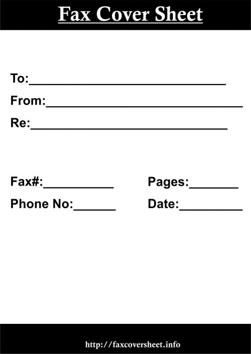 How to Make a Fax Cover Sheet, how to fill fax cover sheet