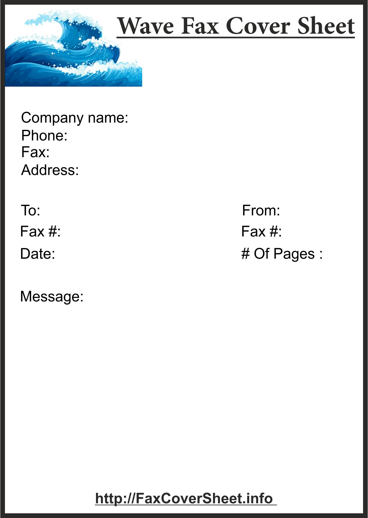 FreeWaves Fax Transmittal Form