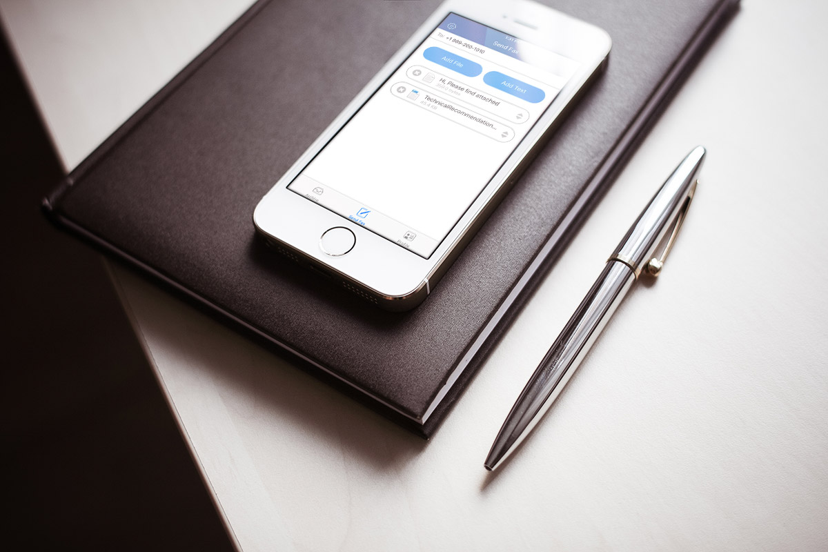 How to send free fax from iPhone