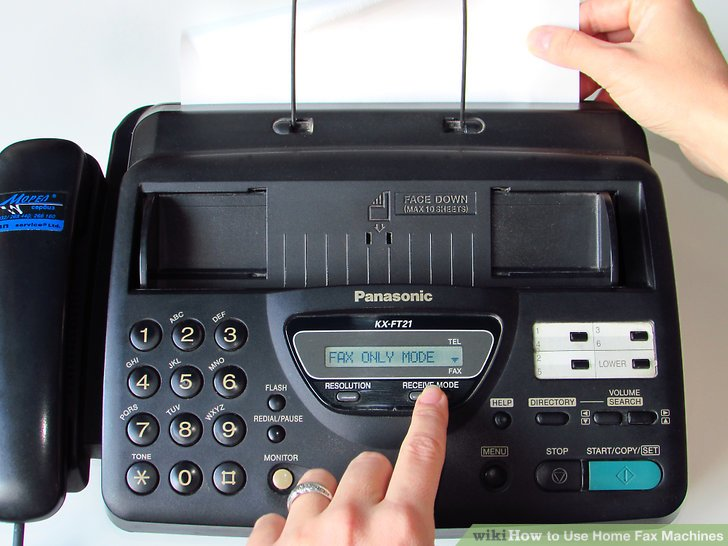 use home fax machines