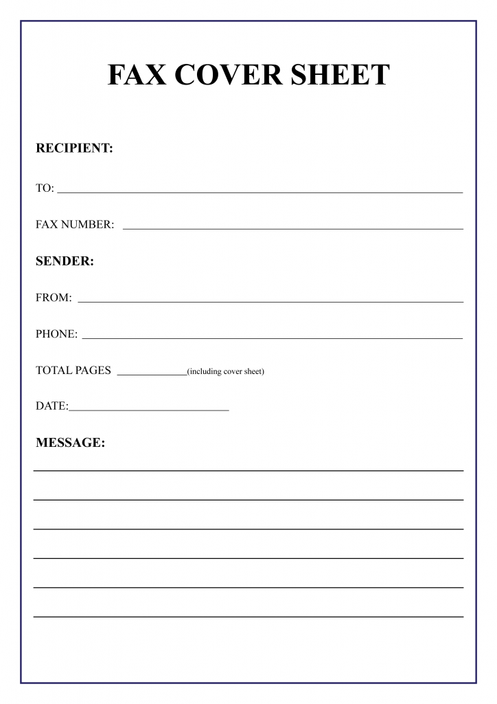 Persnickety image throughout printable fax cover sheet templates
